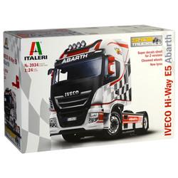 Italeri Iveco HI-WY E5 'Abath' 3934 1:24 Truck Model Kit