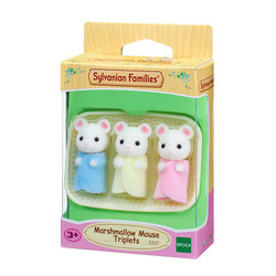 SYLVANIAN Families Marshmallow Mouse Triplets Figures 5337