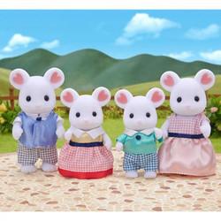 SYLVANIAN Families Marshmallow Mouse Family Figures 5308