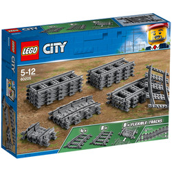 LEGO City Trains 60205 Tracks Age 5-12 20pcs