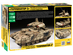 ZVEZDA 3695 BMPT-72 Terminator 2 Russian Fire Support 1:35 Military Model Kit