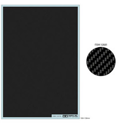 TAMIYA 12681 Carbon Decal Twill Weave - Fine 1:24 Model Kit Accessory
