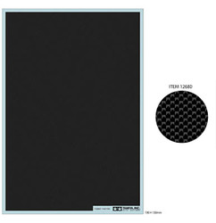 TAMIYA 12680 Carbon Decal Plain Weave - Extra Fine 1:24 Model Kit Accessory