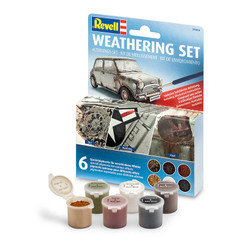 Revell Weathering Set with 6 Pigments 39066 Model Tools