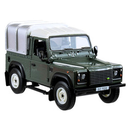 BRITAINS Land Rover Defender 90 green & Canopy 1:32 Diecast Farm Vehicle 42732A1