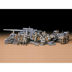 TAMIYA 35017 88mm Gun Flak 36/37 1:35 Military Model Kit