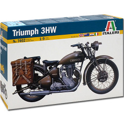ITALERI Triumph Motorbike 7402 1:9 Bike Model Kit