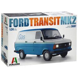 ITALERI Ford Transit Van MkII 3687 1:24 Model Truck Kit