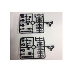 TAMIYA 58463 FF03 PRO Chassis Kit/FF-03, 9115283/19115283 J Parts (2 Pcs.),