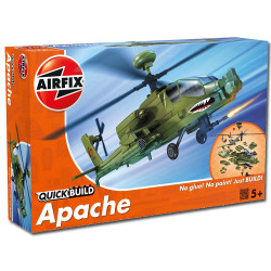 AIRFIX QuickBuild Apache Helicopter J6004 Aircraft Model Kit