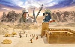 ITALERI Beau Gest - Algerian Tuareg Revolt 6183 1:72 Battle Set Model Kit
