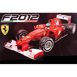 Tamiya 51521 Ferrari F2012 Body Parts Set (F104/F104X1/F104V.2)