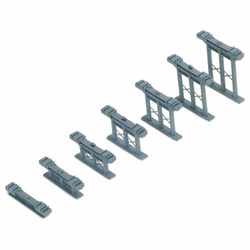 HORNBY R658 Inclined Piers 1x Pack Kit