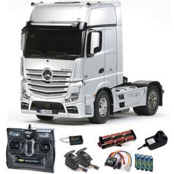 TAMIYA RC 56335 Mercedes Benz Actros 1851 Gigaspace 1:14 Kit + radio bundle