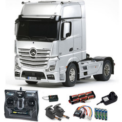 TAMIYA RC 56335 Mercedes Benz Actros 1851 Gigaspace 1:14 Kit + radio bundle