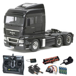 TAMIYA RC 56325 MAN TGX 26.540 6x4 XLX Truck 1:14 Kit + radio bundle