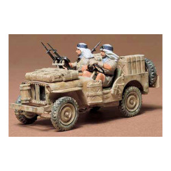 TAMIYA 35033 British SAS Jeep 1:35 Military Model Kit