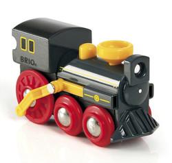BRIO 33617 Old Steam Engine for Wooden Train Set