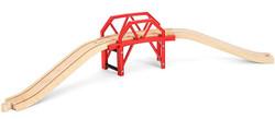 BRIO World 33699 Curved Bridge for Wooden Train Set