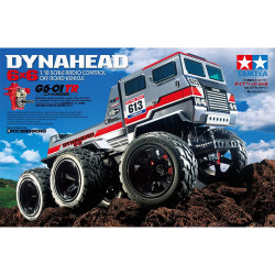 TAMIYA RC 58660 Dynahead 6x6 (G6-01TR) Off Road Vehicle 1:18 Assembly Kit