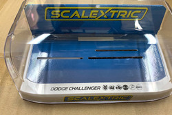 SCALEXTRIC Slot Car 5x Crystal Display Case - Grey Base