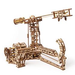 UGEARS Aviator - Mechanical Wooden Model Kit 70053