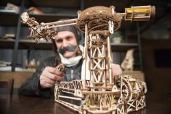 UGEARS Aviator - Mechanical Wooden Model Kit 70053