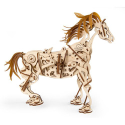 UGEARS Horse-Mechanoid - Mechanical Wooden Model Kit 70054