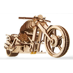 UGEARS Bike - Mechanical Wooden Model Kit 70051