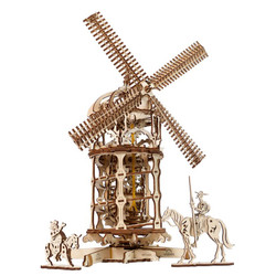 UGEARS Tower-Windmill - Mechanical Wooden Model Kit 70055