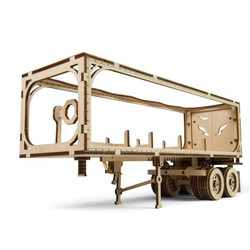 UGEARS Heavy Boy Trailer VM-03 - Mechanical Wooden Model Kit 70057