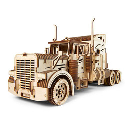 UGEARS Heavy Boy Truck VM-03 - Mechanical Wooden Model Kit 70056