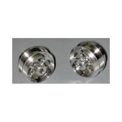"NSR 3/32 Alum. Wheels Rear 17"" Diameter Air System (2) NSR5004"