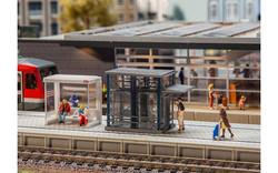 FALLER Friedrichstadt Station Model Kit II HO Gauge 120297