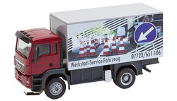 FALLER Car System LKW MAN TGS Repair Shop Truck V HO Gauge 161554