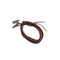 GAUGEMASTER Pair Connecting Leads (OO Rail Joiner/Wire) GM13