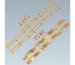 FALLER Garden and Field Fences 2360mm I HO Gauge 180406