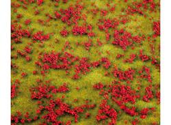 FALLER Red Flowering Meadow Landscape Segment 210x148x9mm HO Gauge 180460