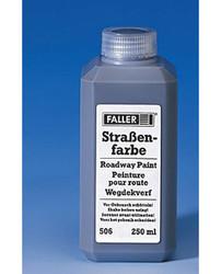FALLER Tarmac Roadway Paint (250ml) HO Gauge 180506