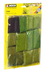 NOCH Short Grass Fibres Assortment HO Gauge Scenics 07066