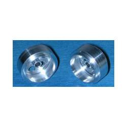 """NSR 3/32 Alum. Wheels Front 16"""" Diameter No-Air System (2) NSR5001"""