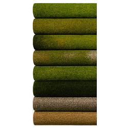 NOCH Summer Meadow Light Green Grass Mat 120x60cm HO Gauge Scenics 00280