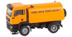 FALLER Car System LKW MAN TGA Street Sweeper V HO Gauge 161482