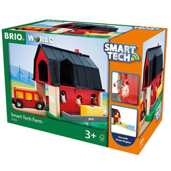 BRIO World 33936 Smart Tech - Farm for Wooden Train Set