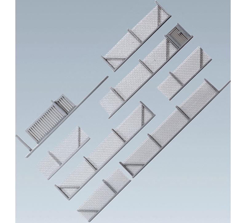 FALLER Fencing Model Kit 1432mm III HO Gauge 180404