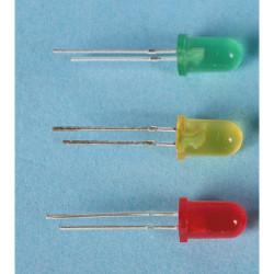 GAUGEMASTER LED Green 5mm 12v (5) Use GM76 Resistors GM83