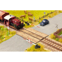 NOCH Wooden Plank Crossing Laser Cut Minis Kit HO Gauge Scenics 14624