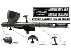 BADGER Airbrushes Xtreme Patriot 105 Airbrush 105-XTR