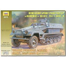 ZVEZDA 3572 Hanomag German Pers. Carrier 2006 Model Kit 1:35