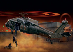 ITALERI UH-60/MH-60 Black Hawk Night Raid 1328 1:72 Helicopter Model Kit